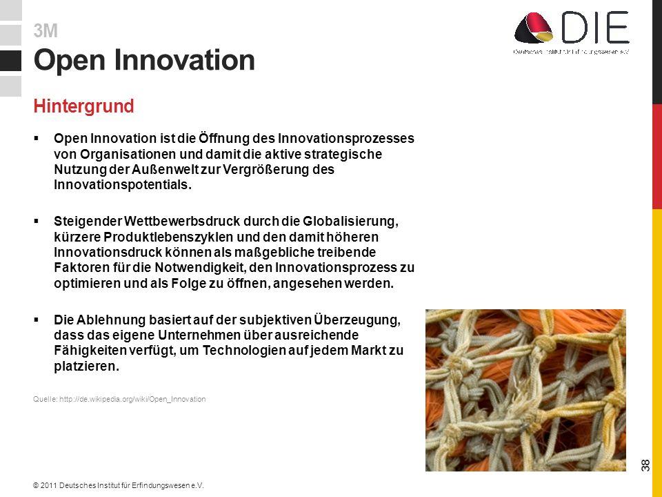 Open Innovation ist die Öffnung des Innovationsprozesses von Organisationen und damit die aktive strategische Nutzung der Außenwelt zur Vergrößerung des Innovationspotentials.