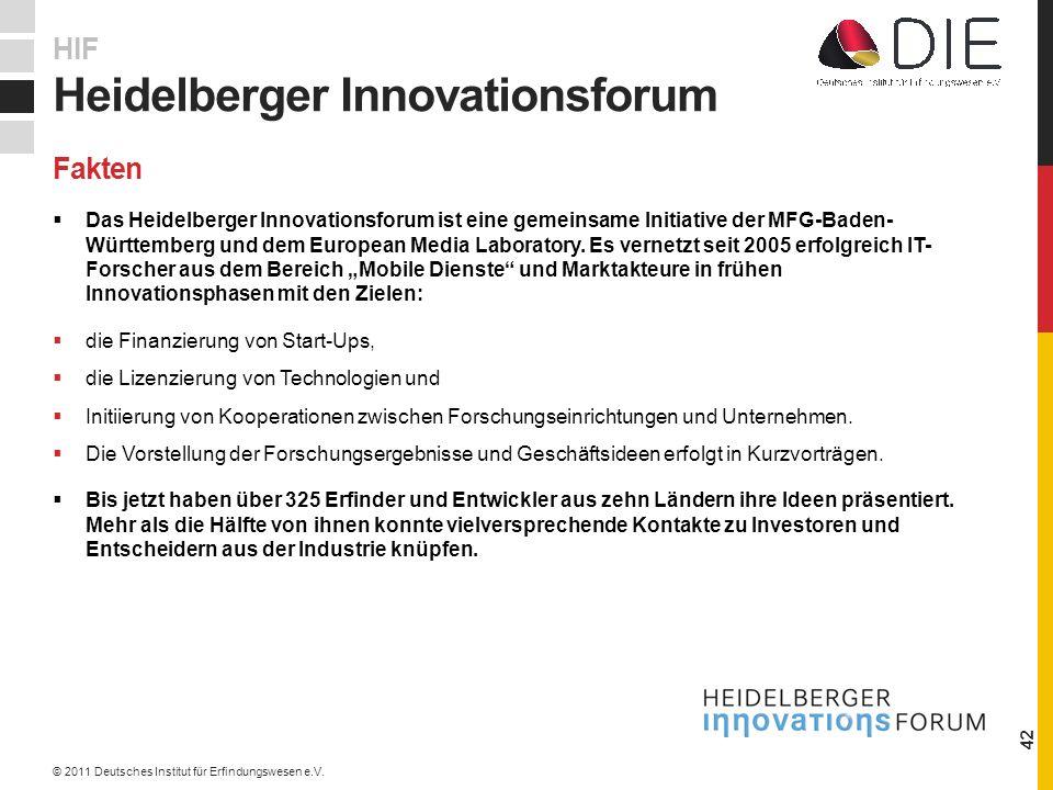 Das Heidelberger Innovationsforum ist eine gemeinsame Initiative der MFG-Baden- Württemberg und dem European Media Laboratory.