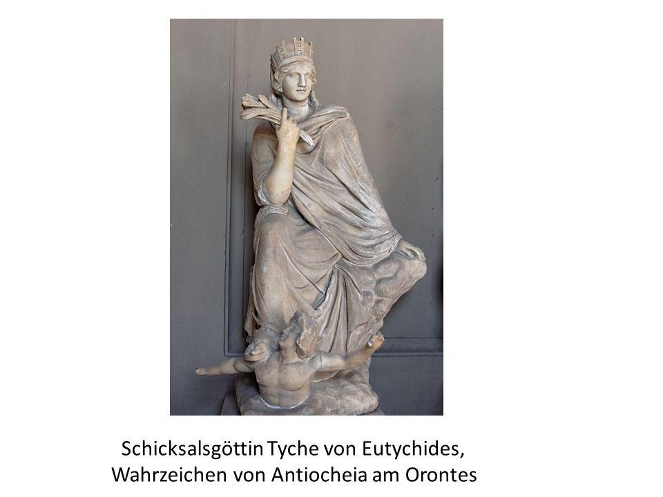 Schicksalsgöttin Tyche von Eutychides, Wahrzeichen von Antiocheia am Orontes