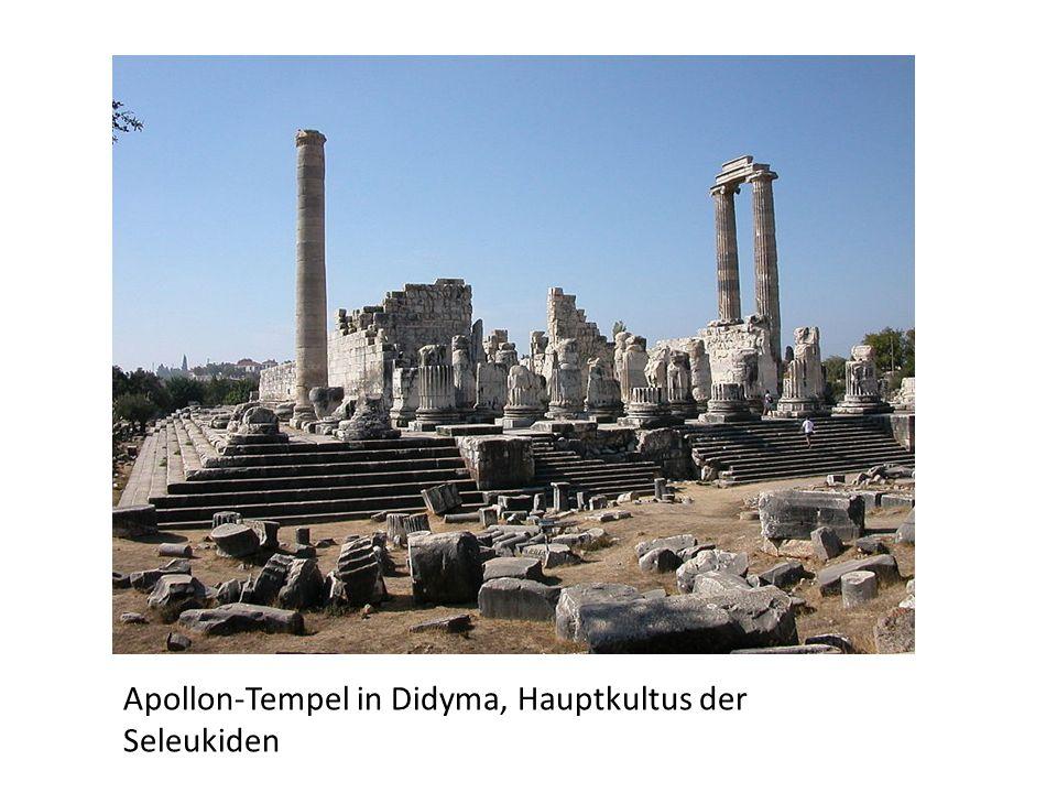 Apollon-Tempel in Didyma, Hauptkultus der Seleukiden