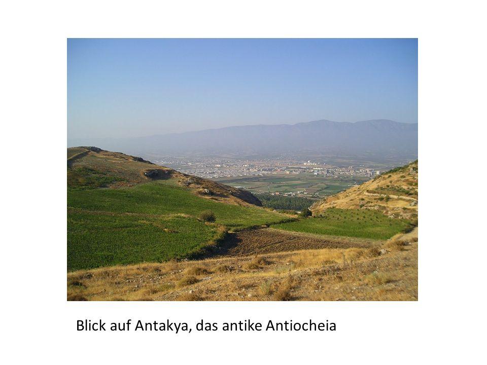 Stadtplan der planmäßig gegründeten antiken Antiocheia