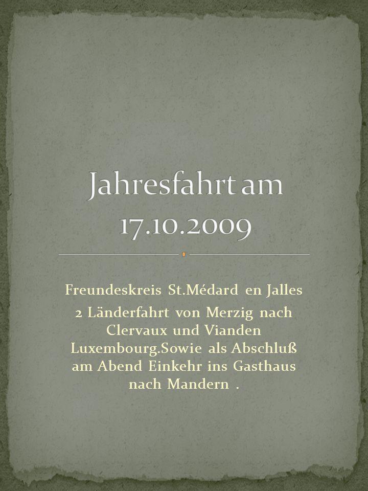 Clervaux, Besichtjgung der größten Fotoausstellung the family of man im Schloss von Clervaux.