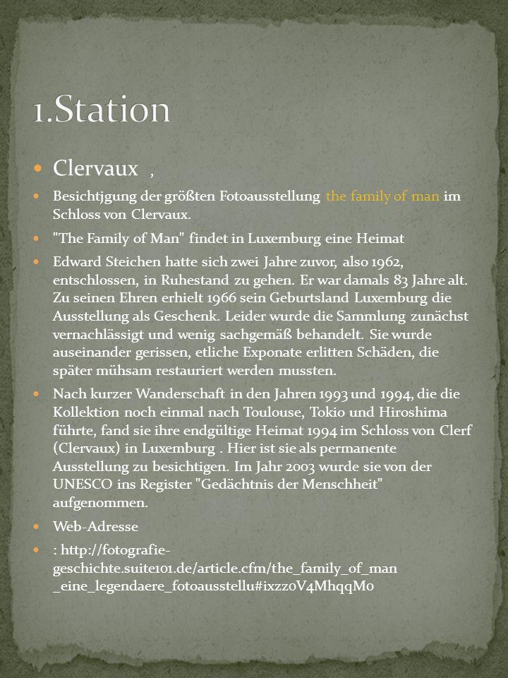Im Schloss von Clervaux das Museum Bataille des Ardennes besucht.