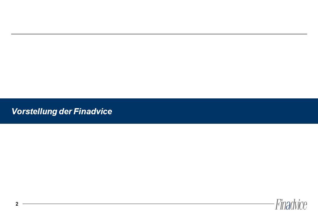 2 Vorstellung der Finadvice
