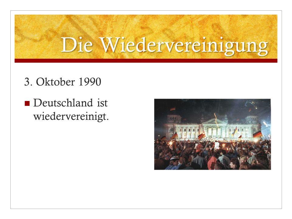 20.Jubiläum Der Tag der deutschen Wiedervereinigung wird jedes Jahr gefeiert.