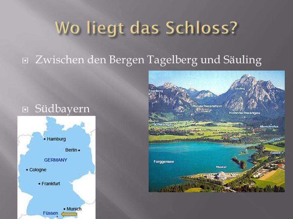 Zwischen den Bergen Tagelberg und Säuling Südbayern
