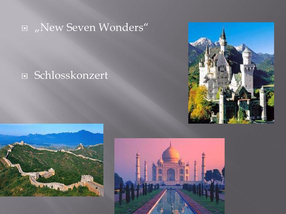 New Seven Wonders Schlosskonzert