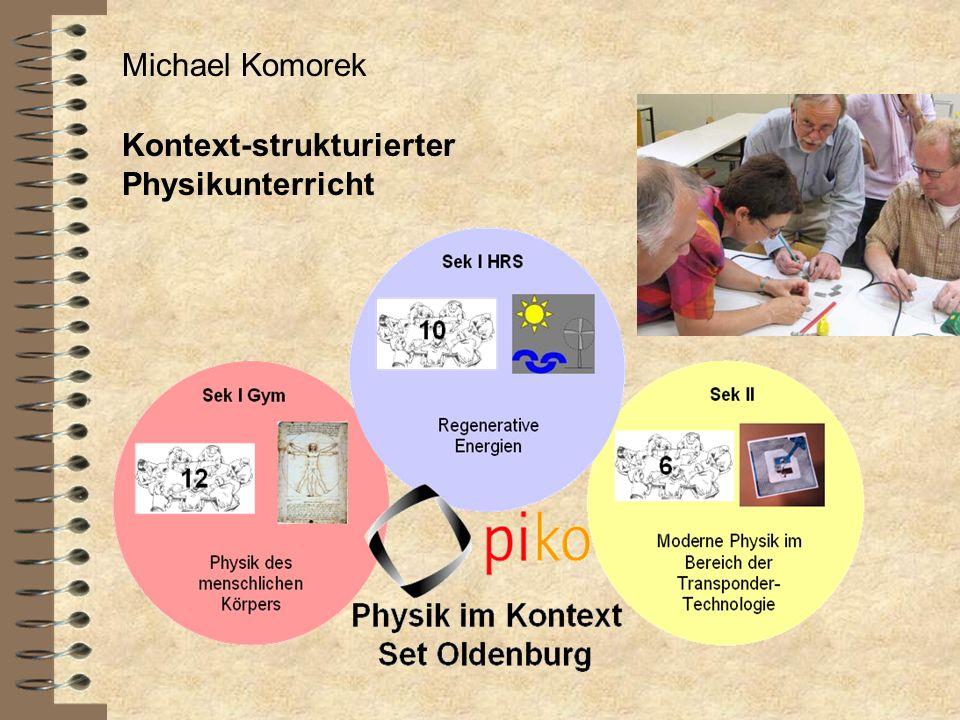 Michael Komorek Kontext-strukturierter Physikunterricht
