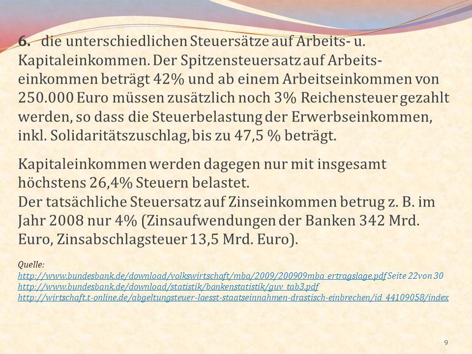 20 Auf dem Wohnungsmarkt in Deutschland, insbesondere bei den Wohnungskosten (Kaltmiete), besteht ein hohes Preisgefälle.