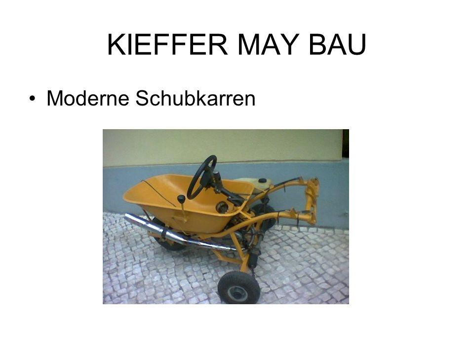 KIEFFER MAY BAU Moderne Schubkarren