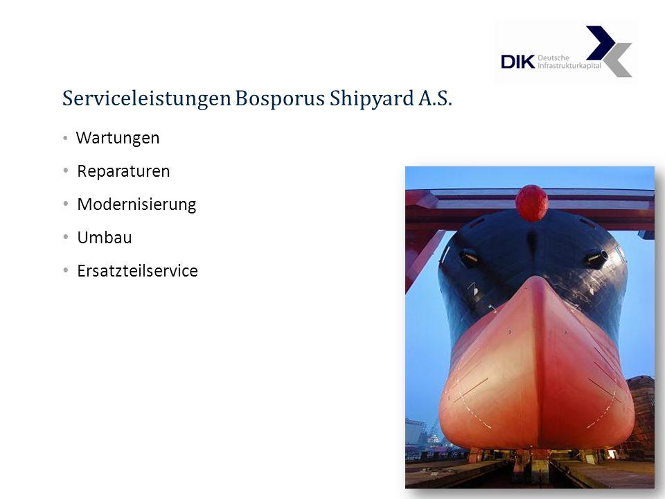 Serviceleistungen Bosporus Shipyard A.S.