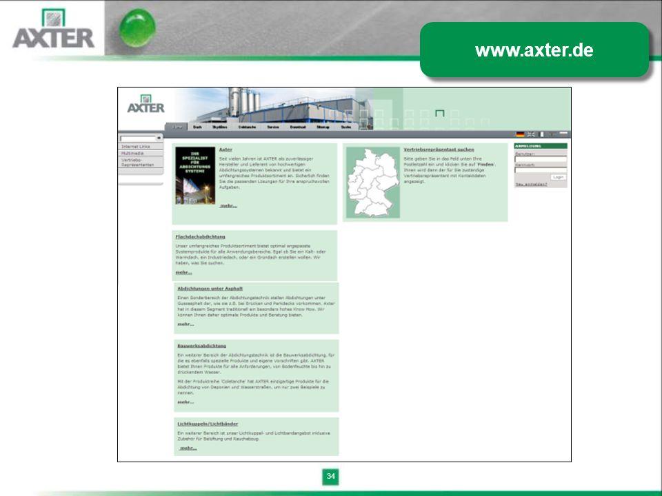 34 www.axter.de