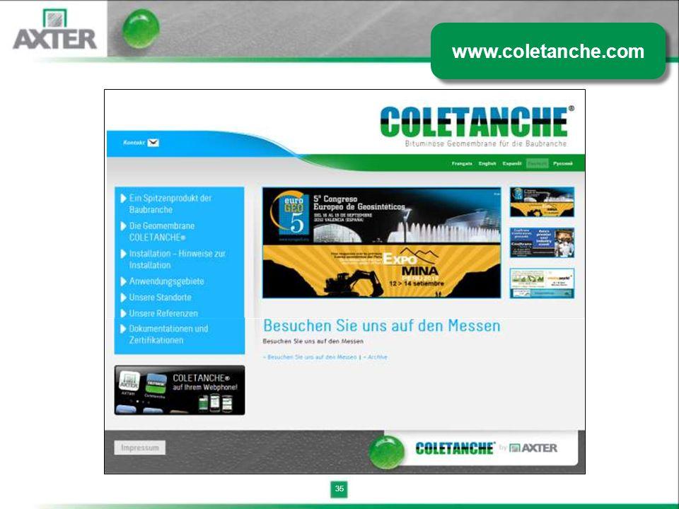 35 www.coletanche.com