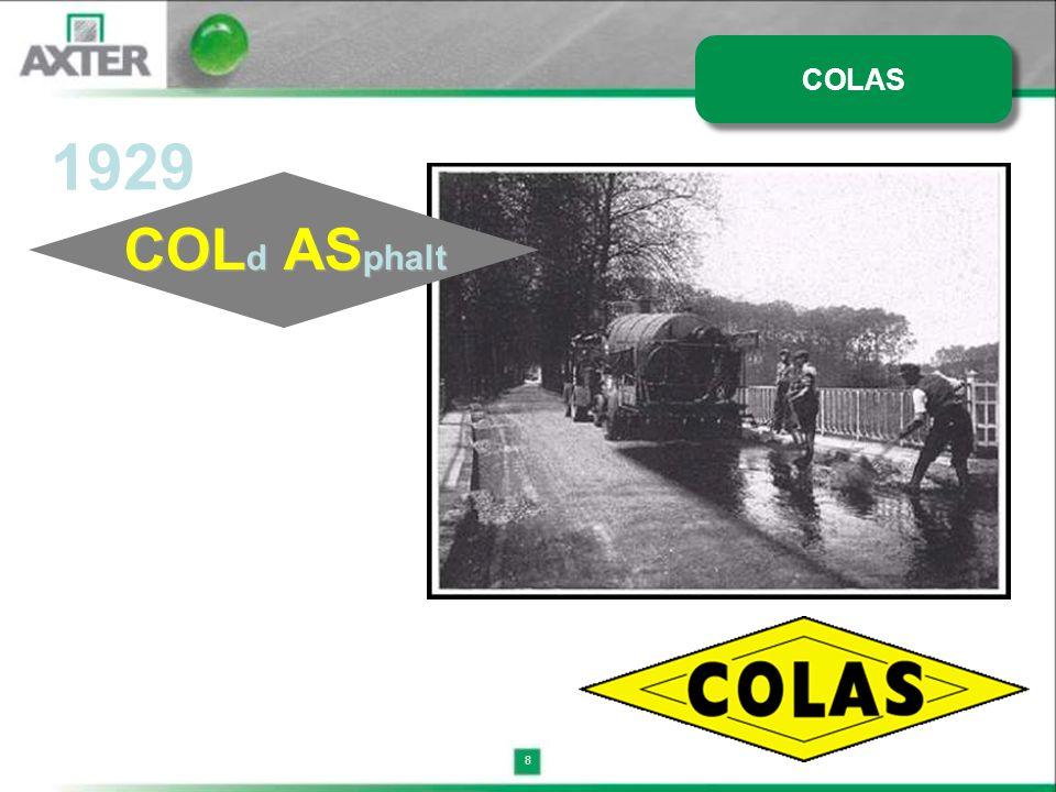 8 1929 COL d AS phalt COLAS