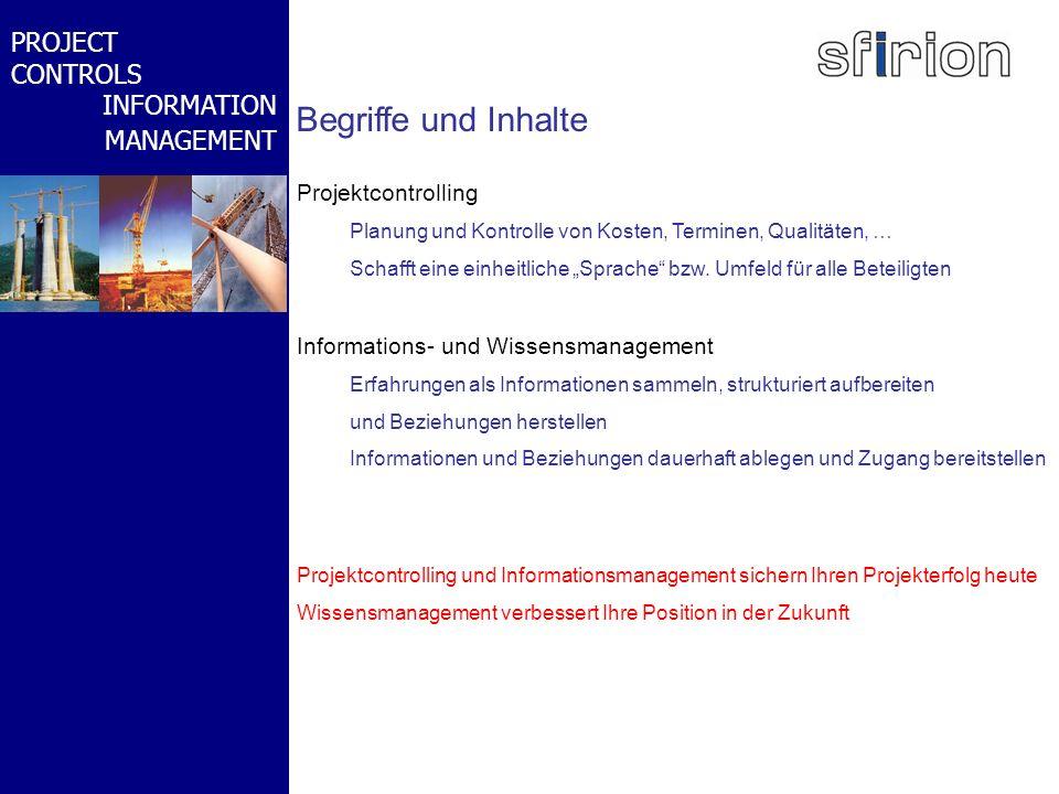 NACHRTRAGS- MANAGEMENT BMW-WELT PROJECT CONTROLS INFORMATION MANAGEMENT Begriffe und Inhalte Projektcontrolling Planung und Kontrolle von Kosten, Term