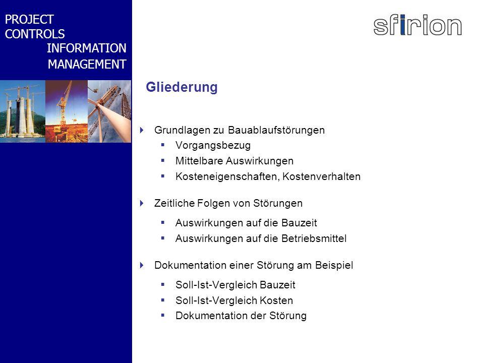 NACHRTRAGS- MANAGEMENT BMW-WELT PROJECT CONTROLS INFORMATION MANAGEMENT Grundlagen Ablaufstörungen Störungen wirken sich auf den Ablauf aus, d.h.