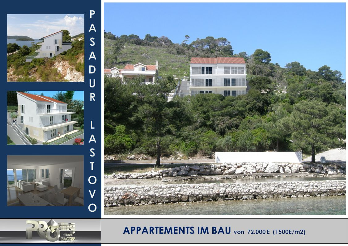APPARTEMENTS IM BAU von 72.000 E (1500E/m2)