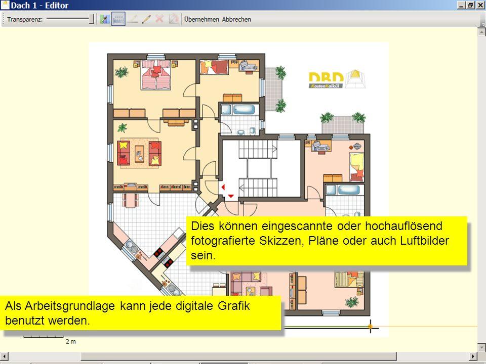 Als Arbeitsgrundlage kann jede digitale Grafik benutzt werden.