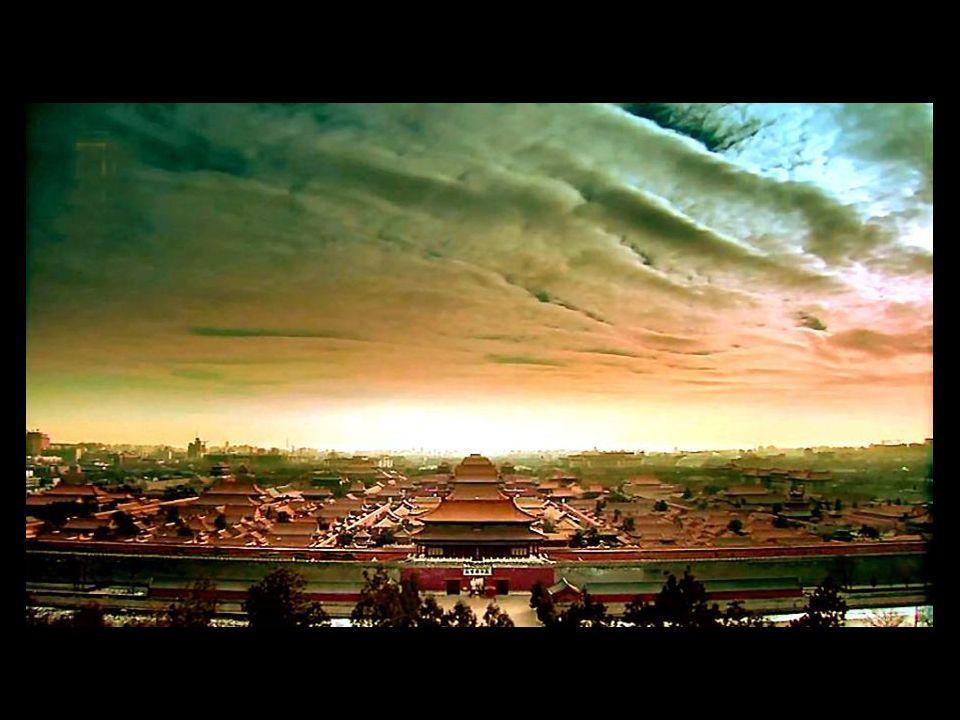 Höchste Harmonie Es ist das größte Fachwerk-Gebäude Chinas.