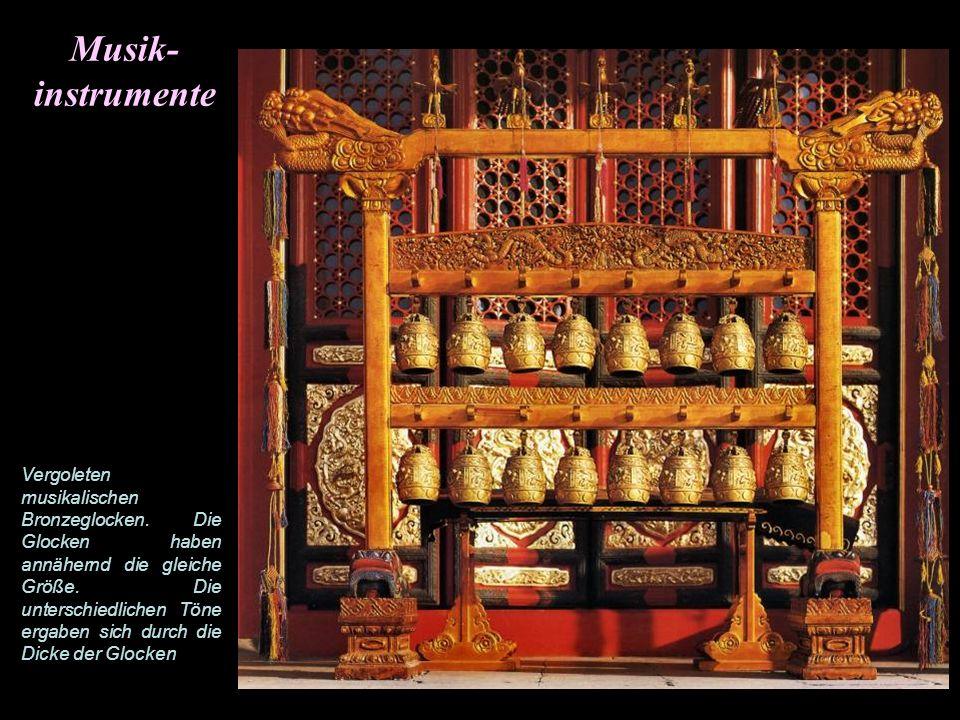 Halle zur Erhaltung der Harmonie Die Halle diente der Kaiserlichen Prüfung als auch für Bankette zu Silvester und der Unterhaltung von Ministern, Gene