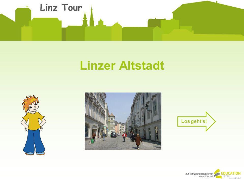 Linzer Altstadt Los gehts!