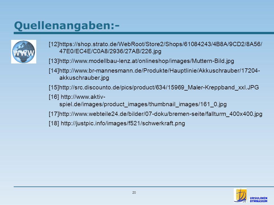 Quellenangaben:- [12]https://shop.strato.de/WebRoot/Store2/Shops/61084243/4B8A/9CD2/8A56/ 47E0/EC4E/C0A8/2936/27AB/226.jpg [13]http://www.modellbau-le