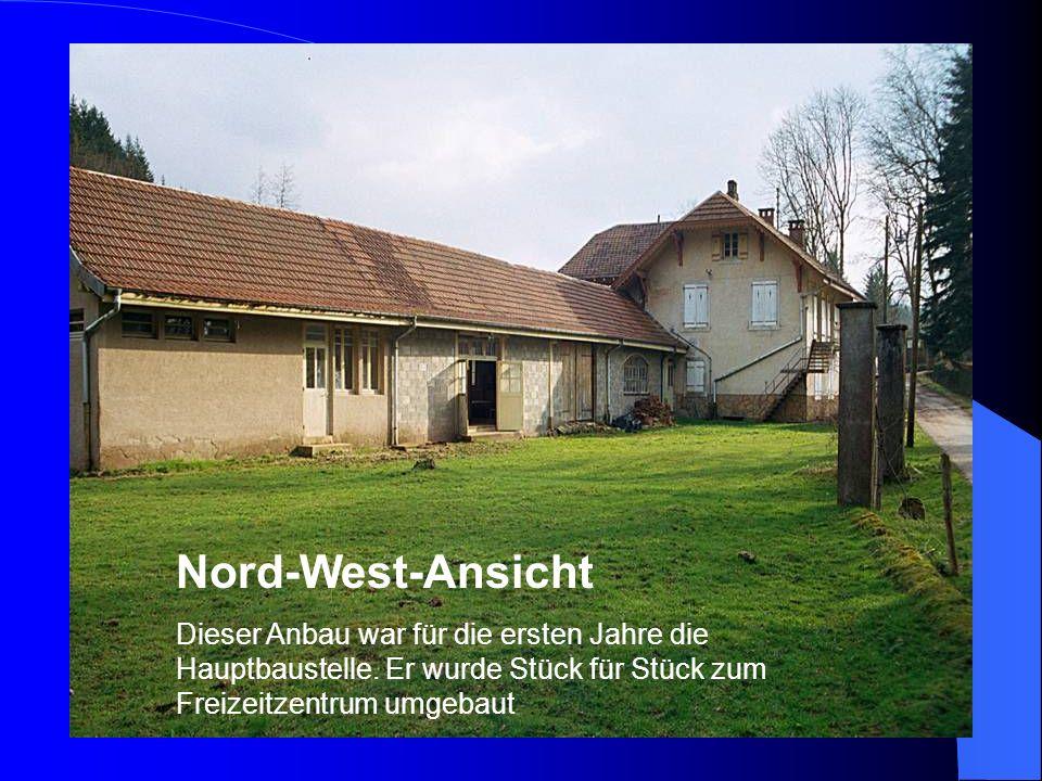 Pfingsteinsatz 2003 Eine Großbaustelle mit vielen kleinen Baustellen Nummer 1: Seeputzete