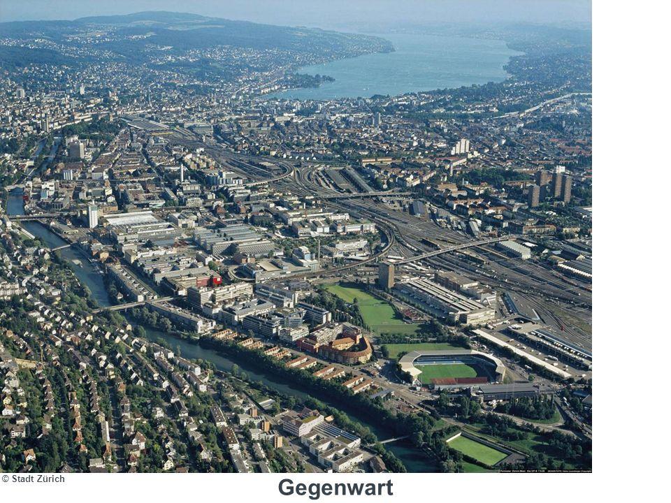 Medienorientierung Hardturm-Areal | 07.02.2008 | 8 2003: Hardturm AG als private Grundeigentümerin und die Stadt Zürich beginnen kooperative Entwicklungsplanung.