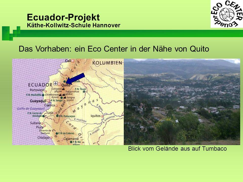 Ecuador-Projekt Käthe-Kollwitz-Schule Hannover Die Projektgruppen der letzten fünf Jahre