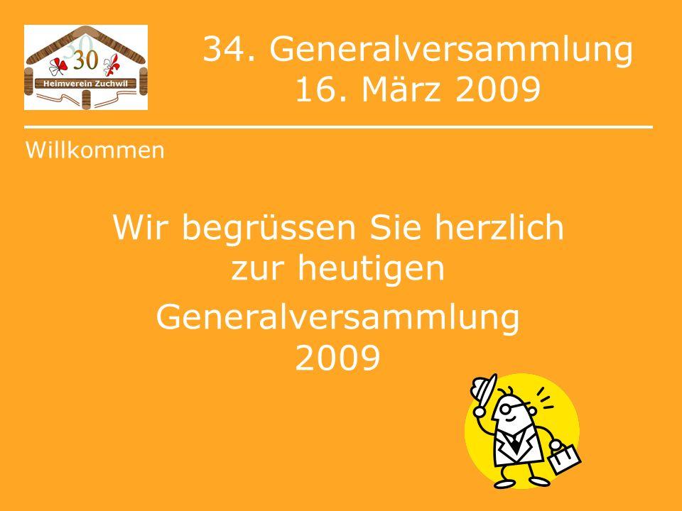 34. Generalversammlung 16.