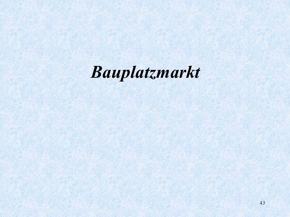 43 Bauplatzmarkt