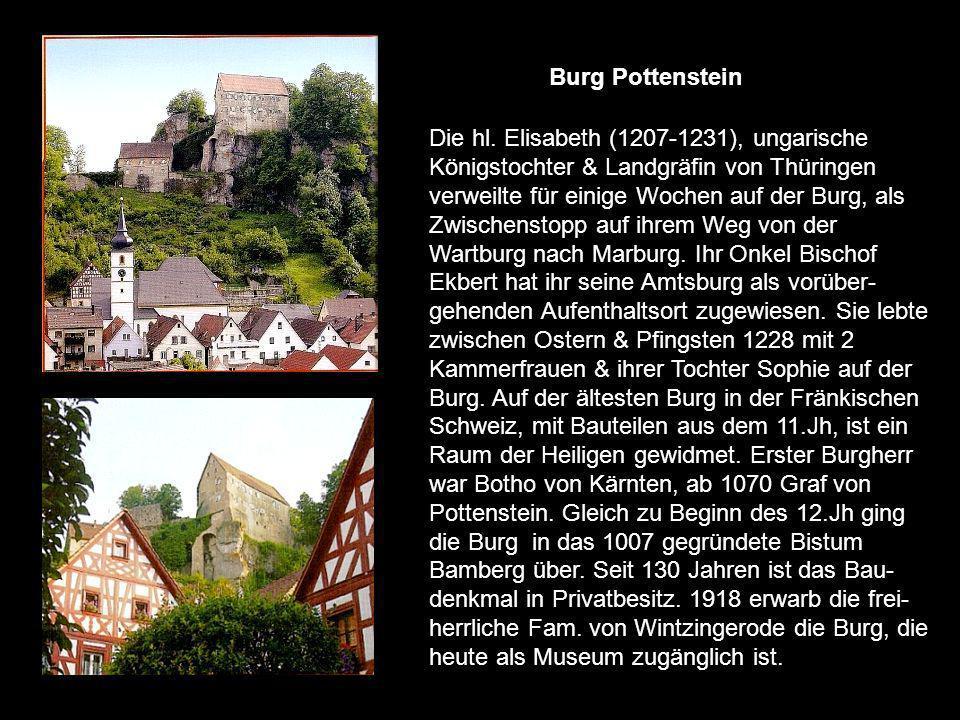 Burg Pappenheim, Stammsitz derer von Pappenheim bis 1806 Reichserbmarschälle. Der Ursprung reicht wahrscheinlich bis zum 11.Jh. Bereits im 16.Jh. Zog