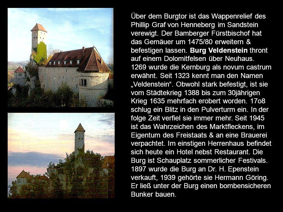 Die hl. Elisabeth (1207-1231), ungarische Königstochter & Landgräfin von Thüringen verweilte für einige Wochen auf der Burg, als Zwischenstopp auf ihr