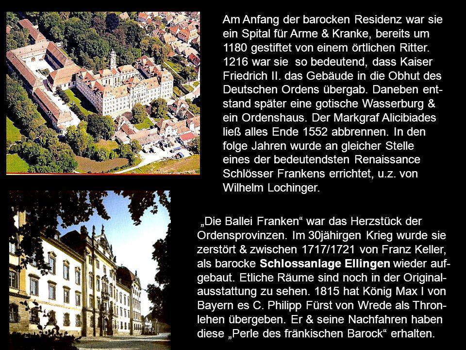 In Teutschland dergleichen Vestung nit zu finden sey. Ist in einer Chronik von 1573 über die Plassenburg, hoch über Kulmbach zu lesen. Bis weit ins ho