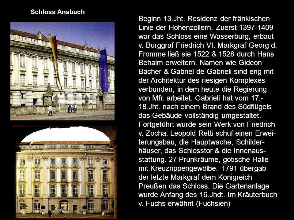 Auf dem höchsten der 7 Hügel Bambergs (368m) thront sie.