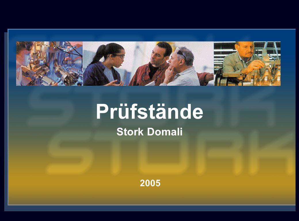 Stork N.V.® 2 Das Unternehmen Stork Domali ist eine 100%-ige Tochter von Stork GDO BV.