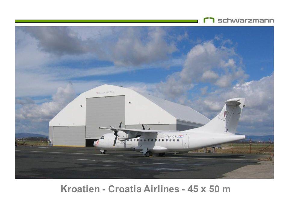 Kroatien - Croatia Airlines - 45 x 50 m
