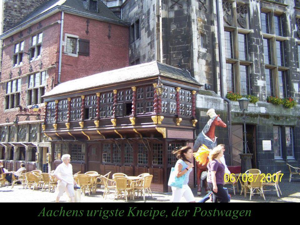Aachens urigste Kneipe, der Postwagen