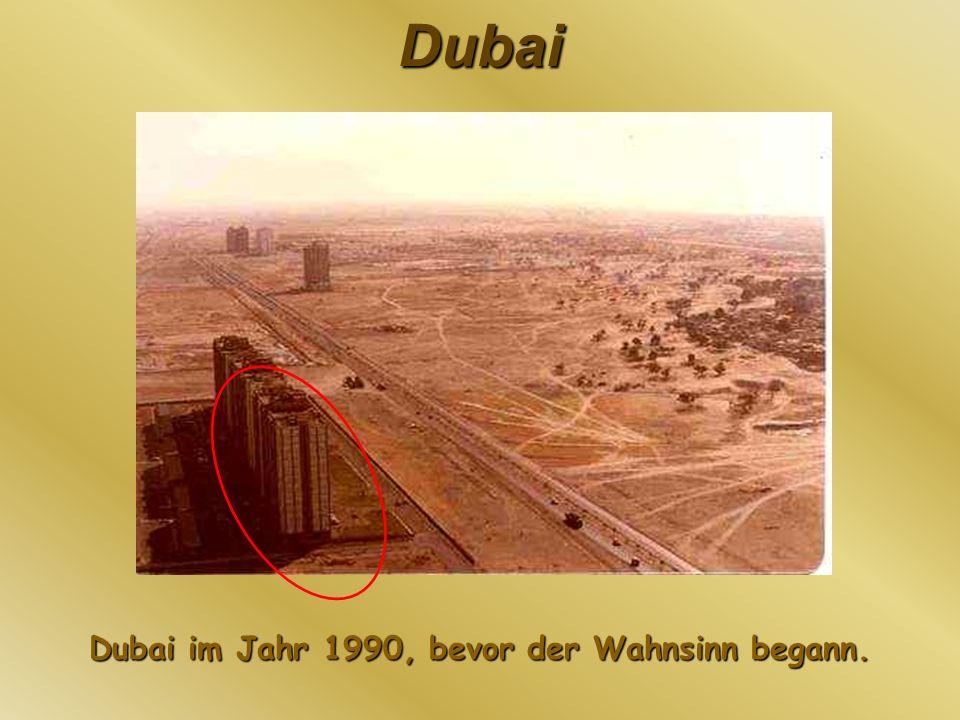 Dubai Die Dubai Marina ist ein komplett von Menschenhand geschaffener Stadtteil und wird 200 Wolkenkratzer behinhalten wenn es fertig ist.