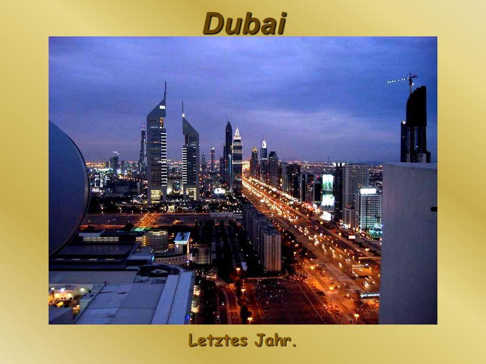Dubai Im Bild ist das Trump International Hotel zu sehen.