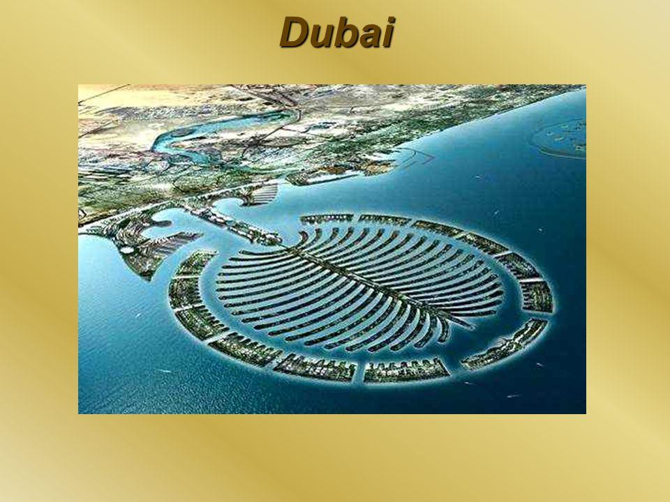 Dubai Im nächten Bild ist die Vision von Dubailand zu sehen.