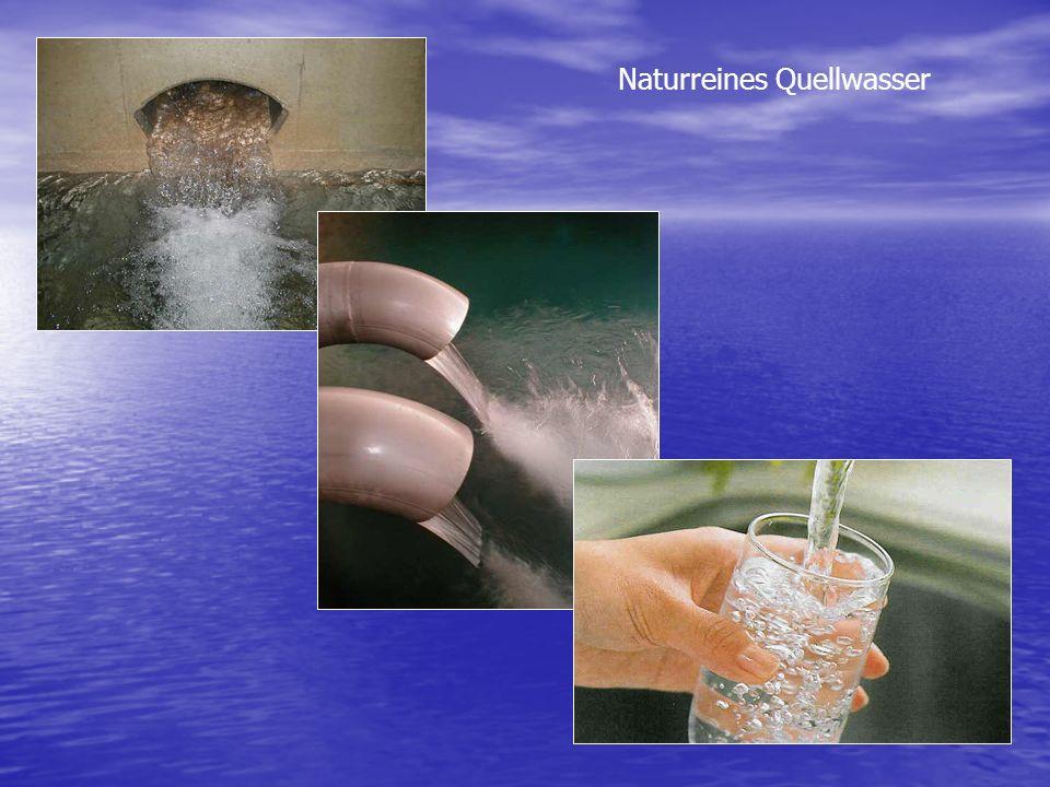 Naturreines Quellwasser