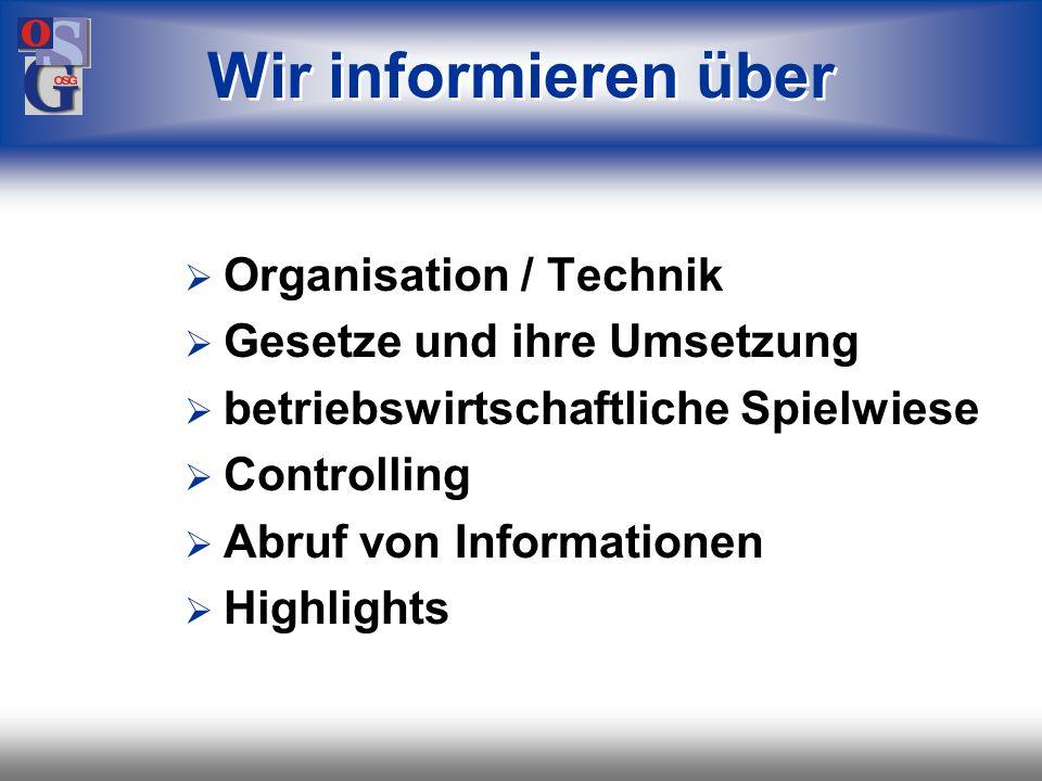 OSG 1 Hier klicken, um Master-Titelformat zu bearbeiten.ANCO AnlagenControlling (C) OSG Organisations-Systeme GmbH, Stuttgart