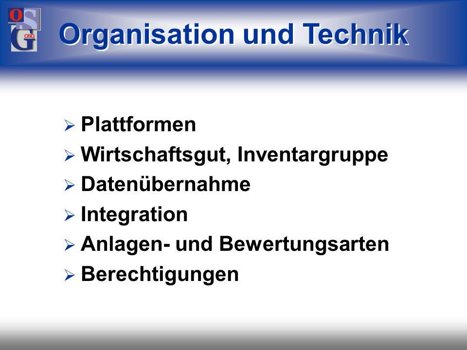 OSG 2 Wir informieren über Organisation / Technik Gesetze und ihre Umsetzung betriebswirtschaftliche Spielwiese Controlling Abruf von Informationen Hi