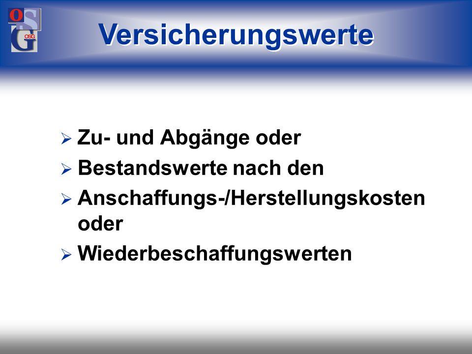 OSG 42 Journal Sammelbuch Vorfallbücher Zugänge Abgänge Umsetzungen Buchungslisten