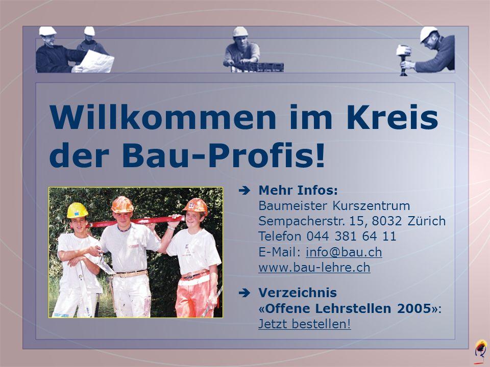 Michael aus Winterthur Ende 1. Lehrjahr Das ist meine Zusatzlehre......denn zuerst habe ich eine Ausbildung als Hochbauzeichner abgeschlossen. Wenn ic