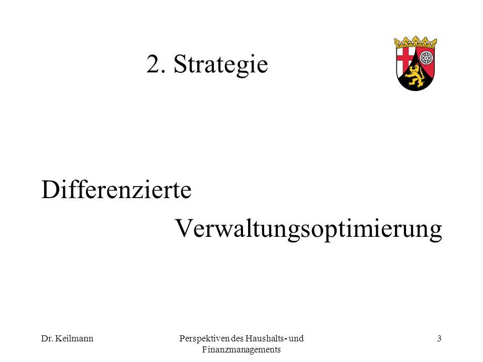 Dr. KeilmannPerspektiven des Haushalts- und Finanzmanagements 3 2.