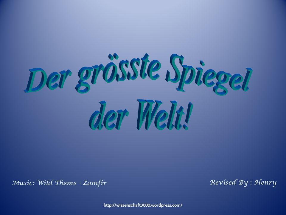 http://wissenschaft3000.wordpress.com/ Music: Wild Theme - Zamfir Revised By Henry