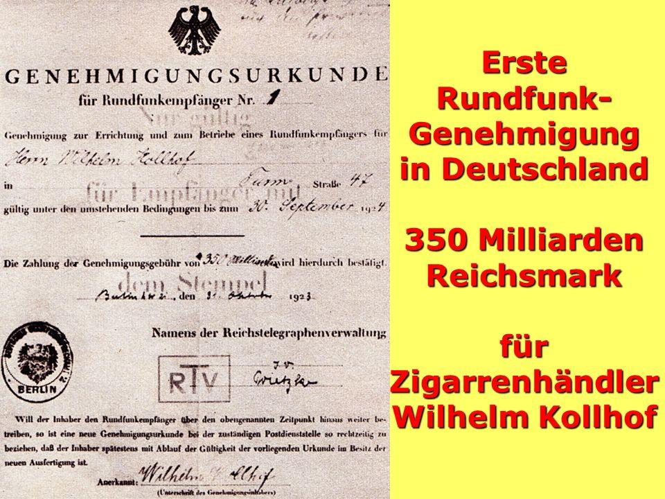 Zweiter Voxhaus-Sender 1923