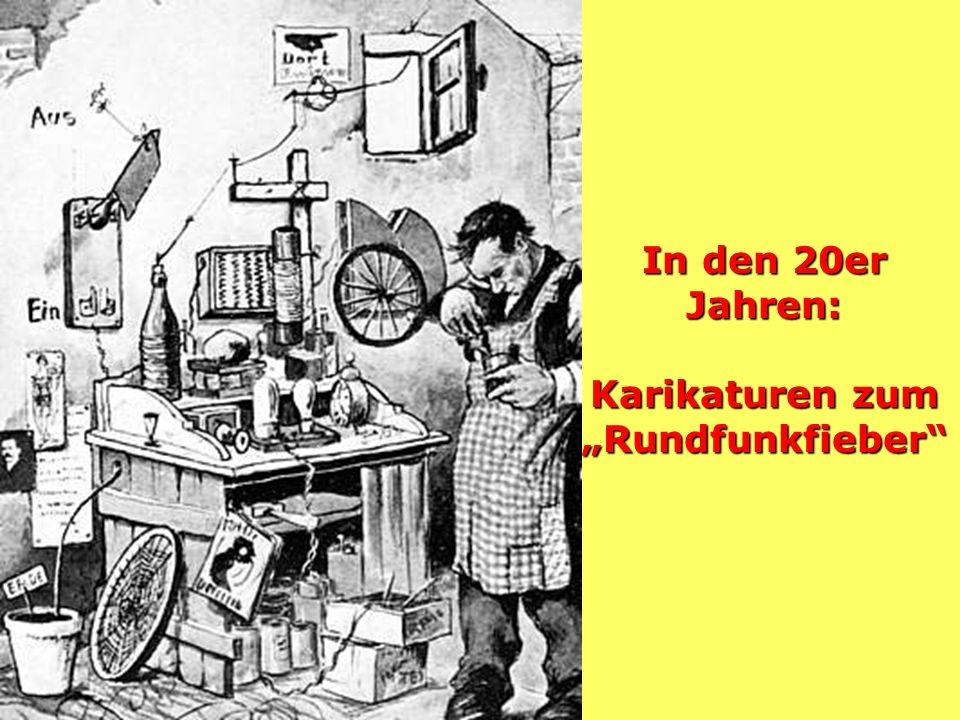 Werbung für den Rundfunk 1927
